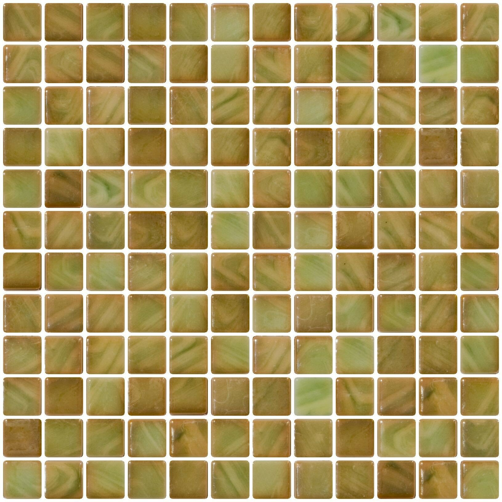 Susanjablon Architect S Iridescent 1 X Recycle Gl Mosaic Tile In Onyx Green Wayfair