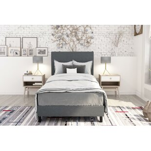 Top Reviews Pulliam Upholstered Panel Bed By Wrought Studio