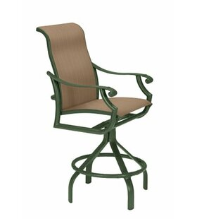 Check Out Montreux II Sling Swivel 28 inch  Patio Bar Stool Best Reviews