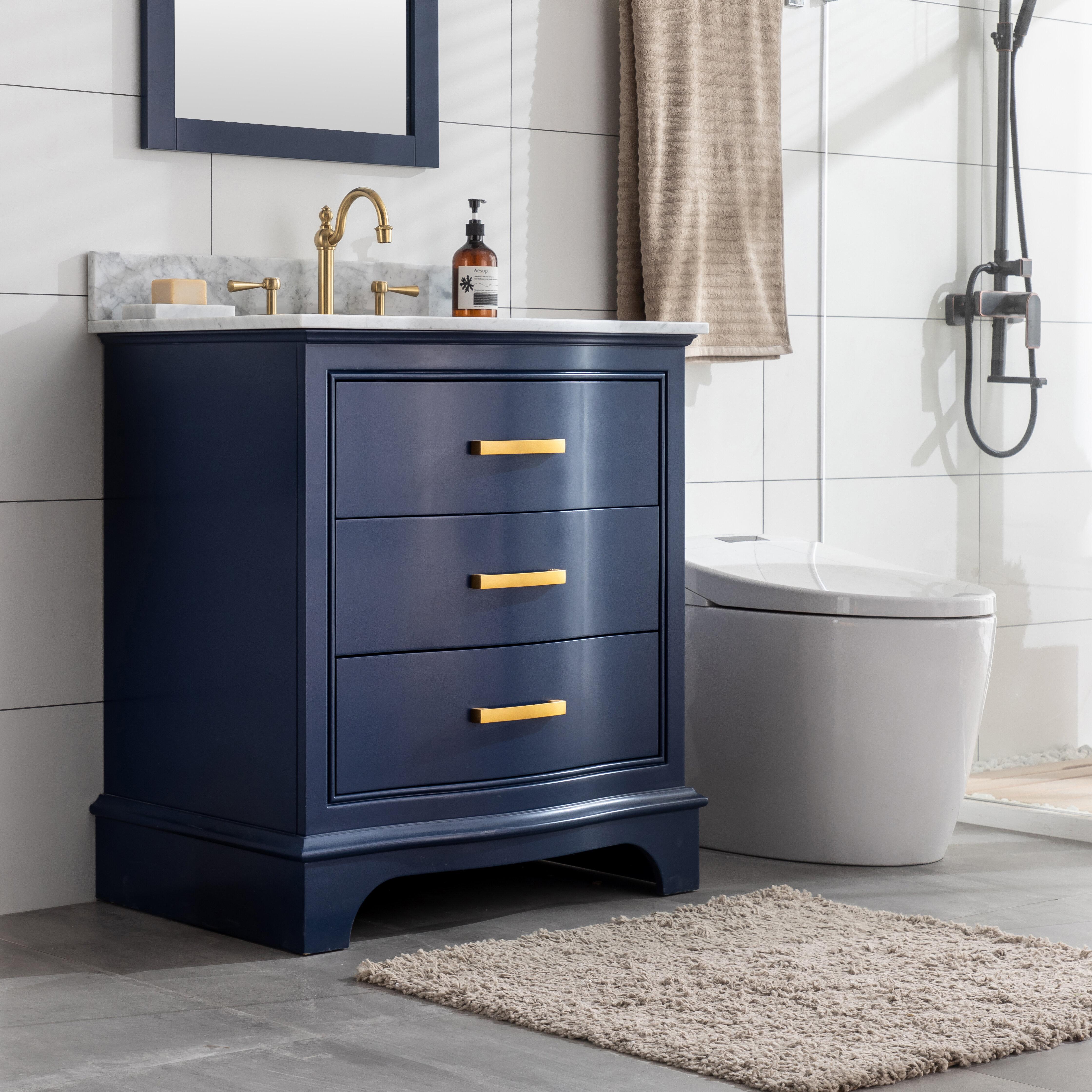 Andover Mills Goleta 30 Single Bathroom Vanity Set Reviews Wayfair