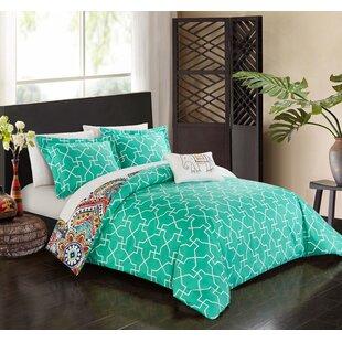 Latitude Run Noél Reversible Comforter Set