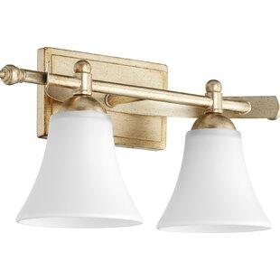 Shop for Eastchester Traditional 2-Light Vanity Light By Alcott Hill