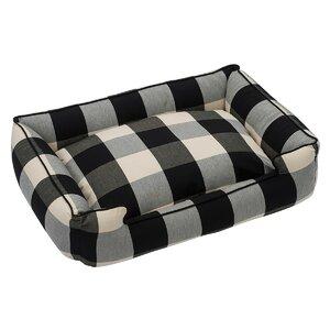 Buffalo Check Premium Cotton Blend Lounge Bolster Bed