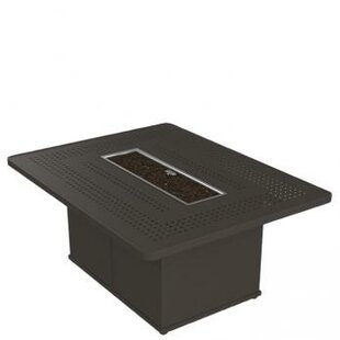 Tropitone Boulevard Aluminum Fire Pit Table