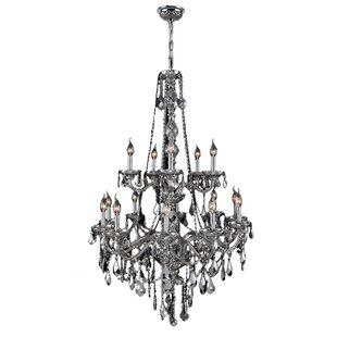 Doggett 15-Light Chain Candle Style Chandelier By Astoria Grand