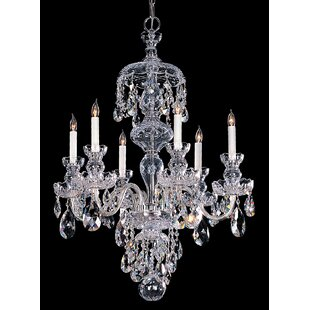 House of Hampton Milan 6-Light Candle Style Chandelier