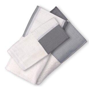 Patrina 3 Piece 100% Cotton Towel Set