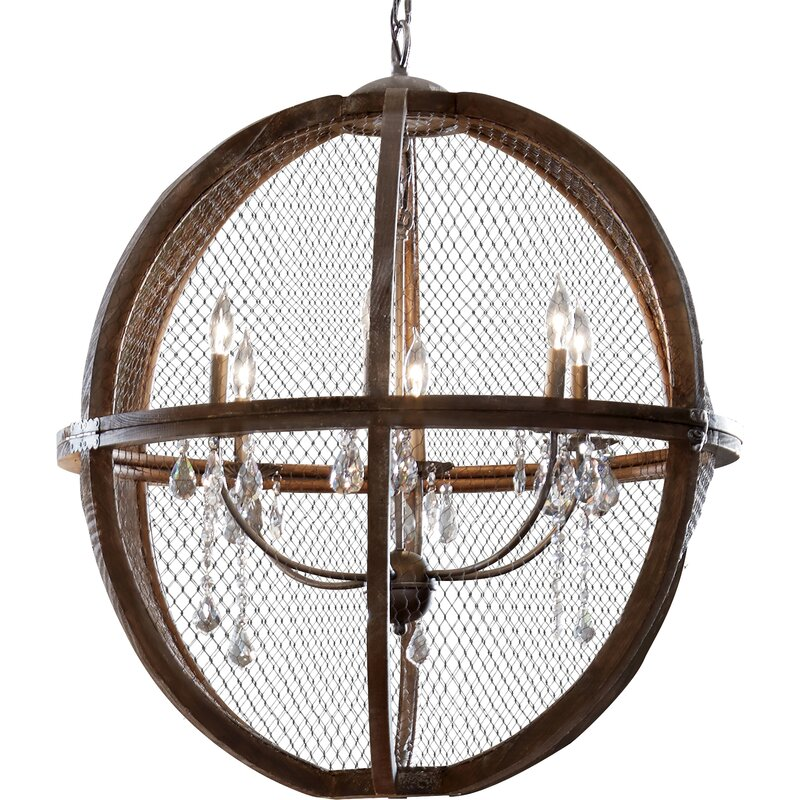 Filipe 6-Light Globe Chandelier