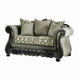 Rushville 37'' Rolled Arm Loveseat by Astoria Grand