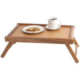 Nottingham Acacia Bed Tray by Mint Pantry