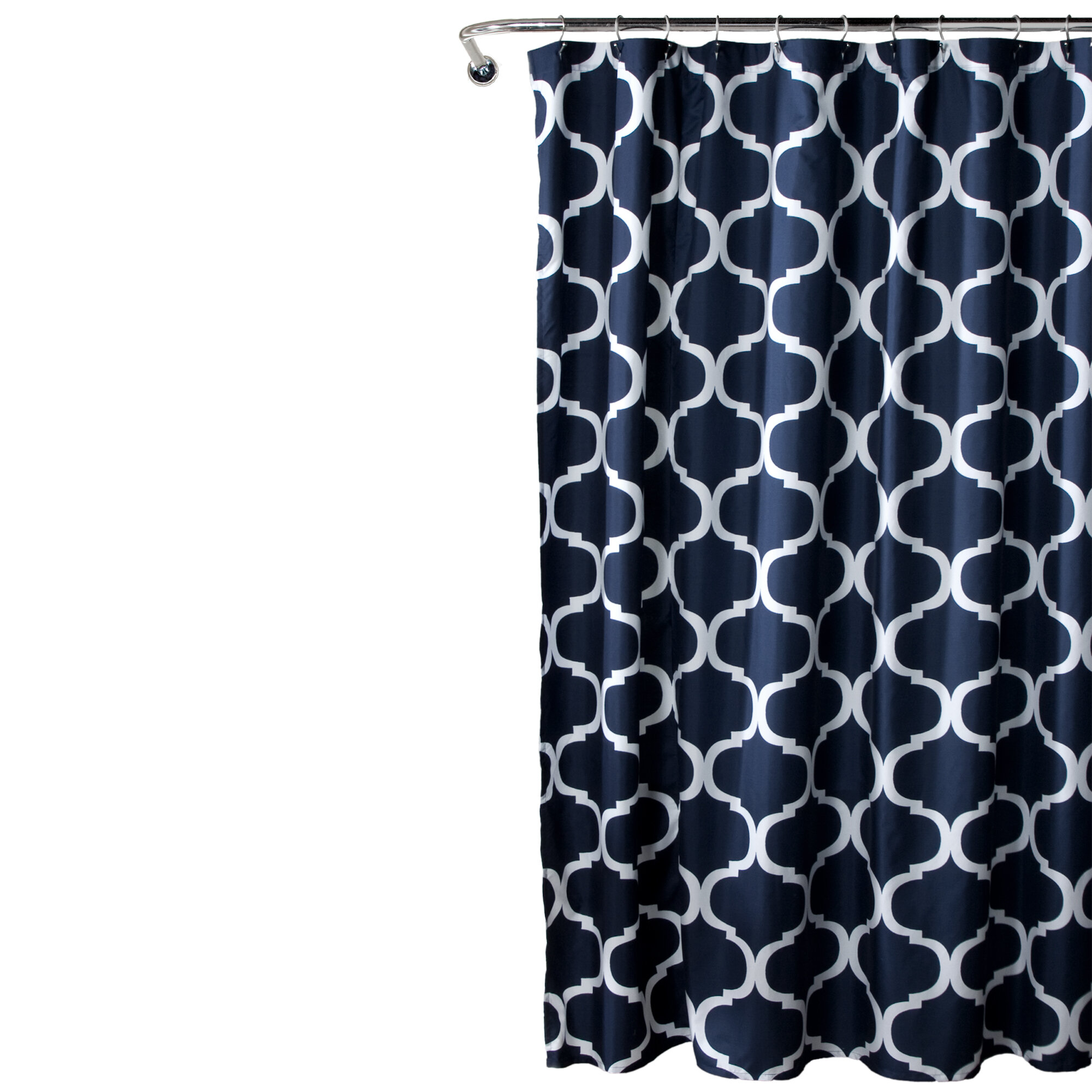Geometric Shower Curtains Shower Liners You Ll Love In 2021 Wayfair