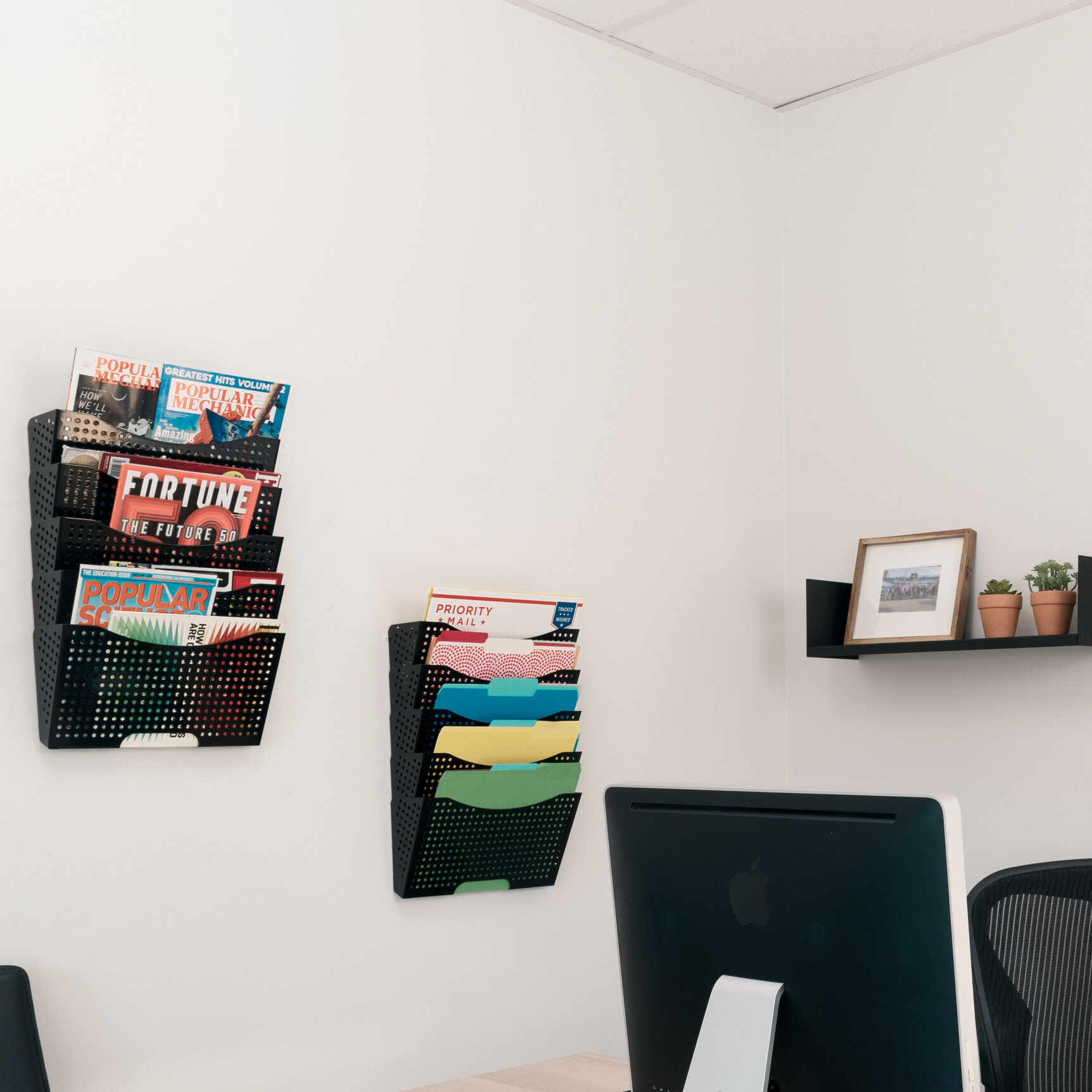Rebrilliant Lower Vobster Dots Wall Mail Organizer Wayfair