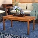 Cadsden Solid Wood Coffee Table