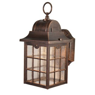 Charlton Home Flannigan 1-Light Outdoor Wall lantern