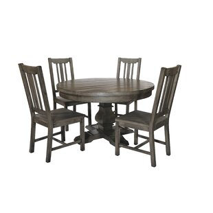 Avienda Dining Set With 4 Chairs By August Grove