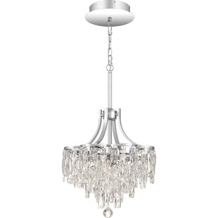 Carty 1-Light Crystal Pendant by House of Hampton