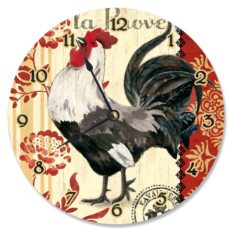 French Kitchen Rooster 12