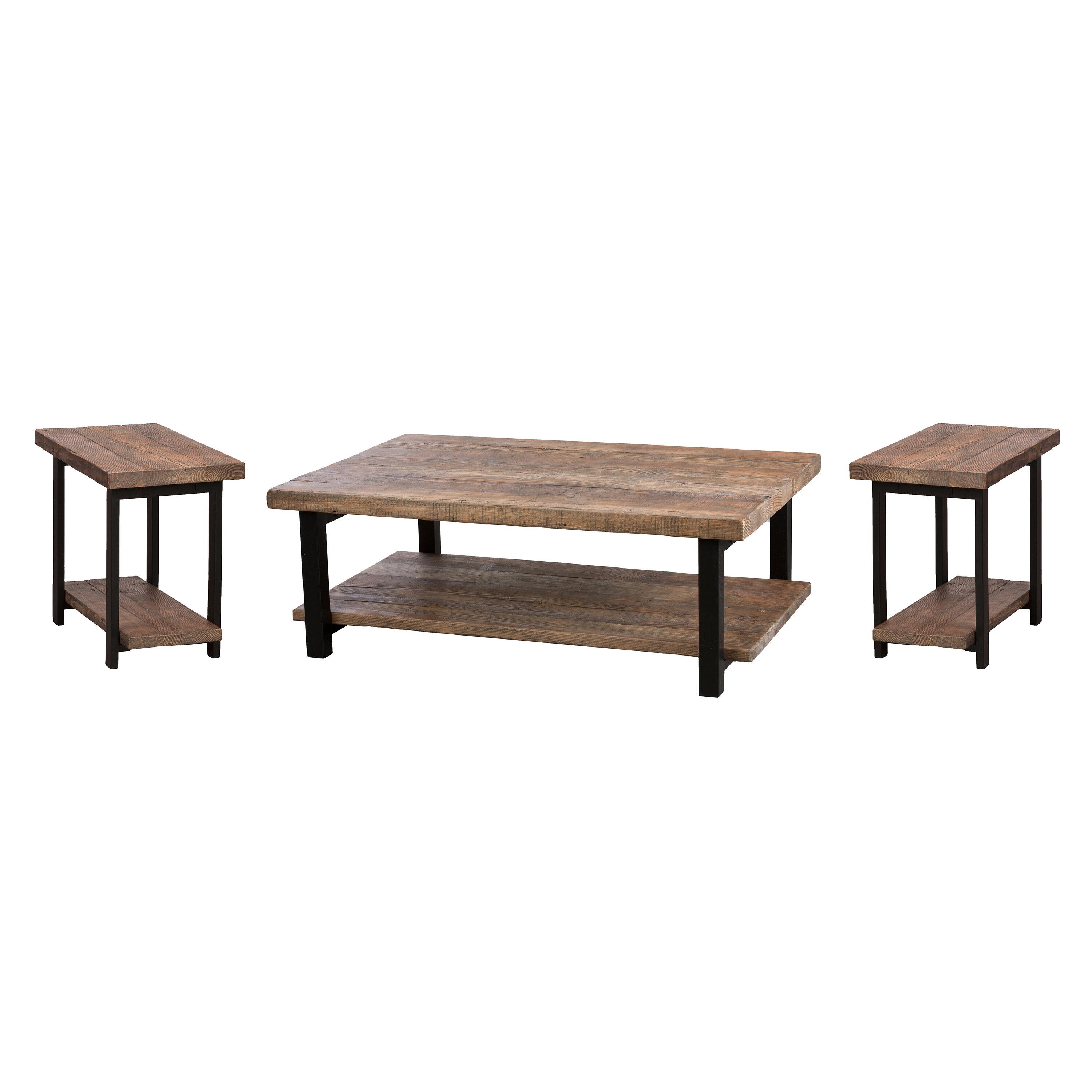 Bianco e Nero FCXBQ Nest of 2 Tables MDF Round Side Sofa Table Piccolo tavolino da t/è da Salotto