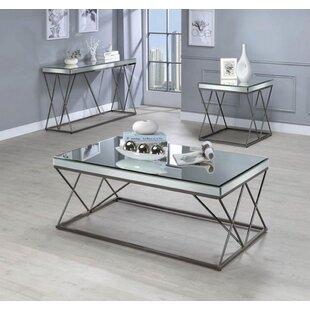 Brayden Studio Kerens 3 Piece Coffee Table Set