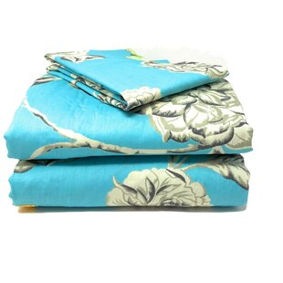 Butterfly Cotton Reversible Duvet Cover Set