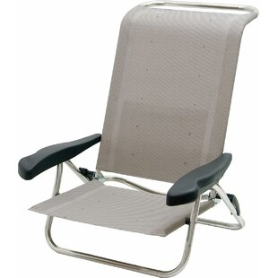 Makhzane Reclining/Folding Beach Chair By Sol 72 Outdoor