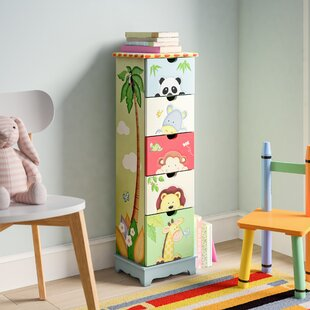 Easterly 5 Drawer Chest By Zoomie Kids