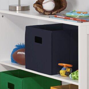 Save & Navy Blue Storage Bin | Wayfair