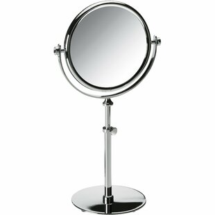 Alcott Hill Hummer Round Double-Sided Makeup/Shaving Mirror