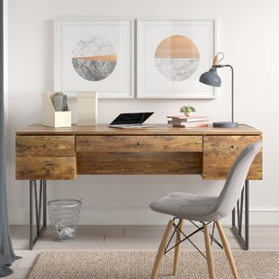 Fallon 4 Drawer Writing Desk by Trent Austin Design