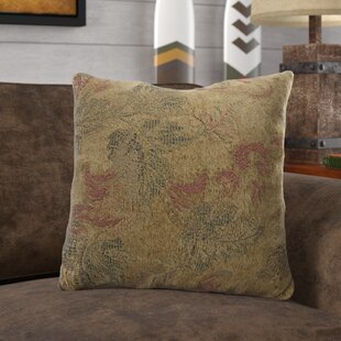 Weir Leaves Throw Pillow (Set of 4)