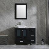 Dezmyn 36 Single Bathroom Vanity Set with Mirror by Latitude Run