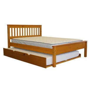 Treva Full Slat Bed with Full Trundle
