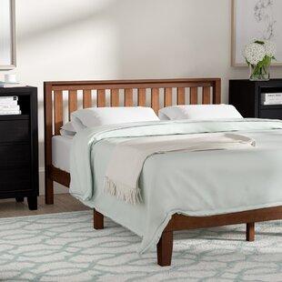 Winston Porter Dalila Solid Wood Platform Bed