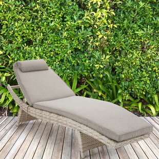 Pantoja Chaise Lounge with Cushion