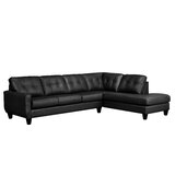 Hondo Leather 121 Sectional by Latitude Run®