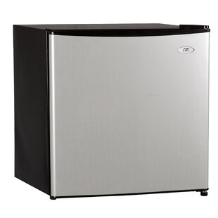 1.6 cu. ft. Compact Refrigerator with Freezer by Sunpentown