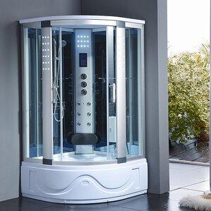42  x 42  x 83  Corner Shower EnclosureShower Stalls   Enclosures You ll Love   Wayfair. Small Corner Shower Enclosures. Home Design Ideas