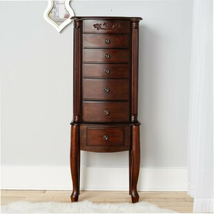 Hives and Honey Morgan Jewelry Armoire with Mirror