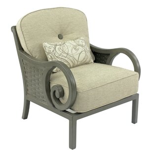 Leona Riviera Patio Chair with Cushion