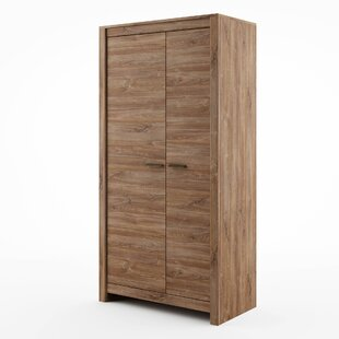 Saskia 2 Door Wardrobe By Gracie Oaks