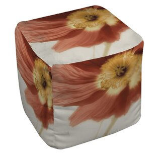 Manual Woodworkers & Weavers Mystic Poppy 1 Pouf