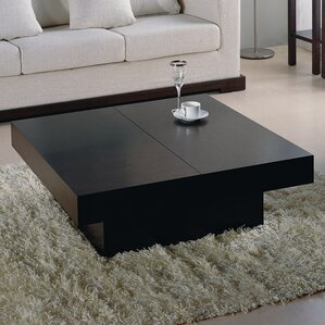 Benitez Storage Coffee Table by Wade Logan