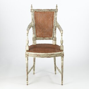 Reingard Woven Cane Armchair
