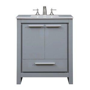 30 Bathroom Vanity | Modern 30 Inch Bathroom Vanities Allmodern