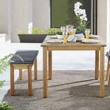 Gowins 2 Piece Dining Set with Cushions