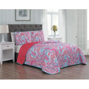 Drouin 3 Piece Reversible Quilt Set by Bungalow Rose