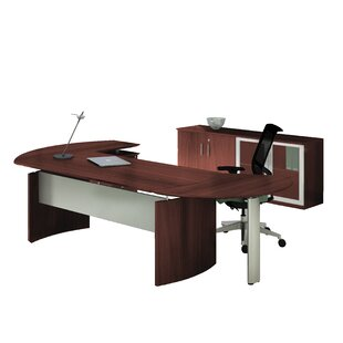 Mayline Group Medina Series 2 Piece Standard Right Return Desk Office Suite