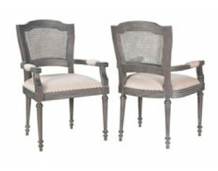 Crosby Arm Chair (Set of 2) by One Allium..