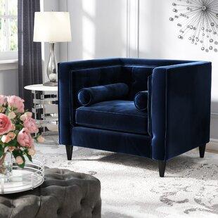 Willa Arlo Interiors Roberta Velvet Club Chair