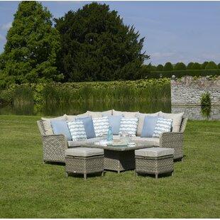 Bodine 7 Seater Rattan Corner Sofa Set By Sol 72 Outdoor